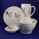 set rooster