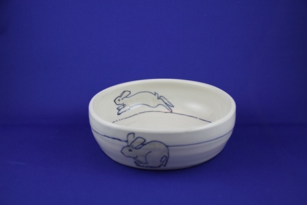 kid bowl rabbit