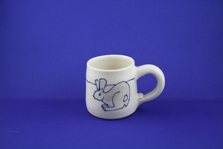 kid mug rabbit