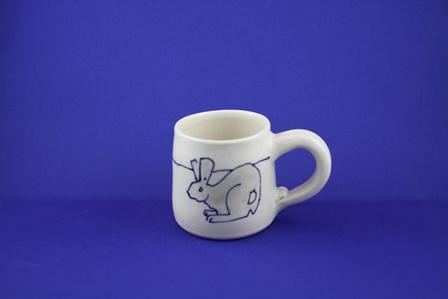 kid mug rabbit